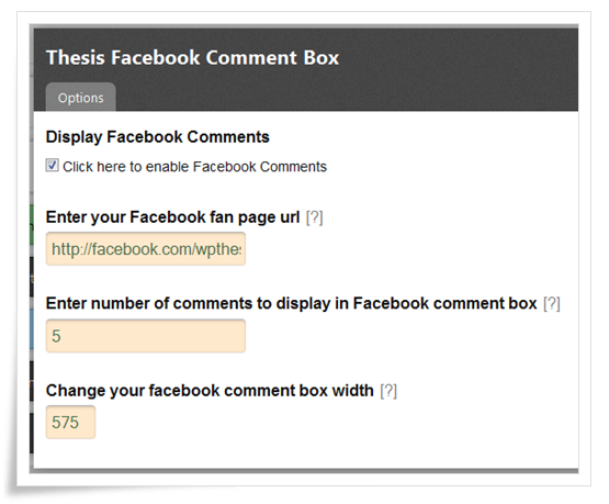 facebook comment box admin