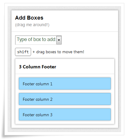 thesis theme custom footer Description manage and replace sidebars and other widget areas on your site  with custom sidebars, a flexible widget area manager  make custom.