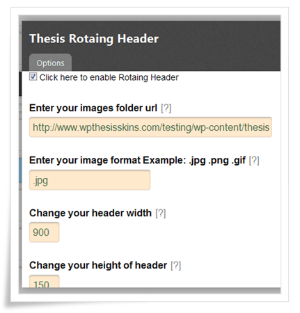 thesis theme remove header