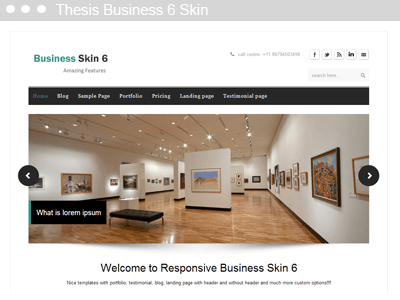 thesis 2 export skin Everyone knows that thesis is the most easily customized wordpress theme on the planet especially if you are an experienced web designer with a decent grasp of html.