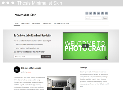 Skin thesis