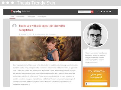 Thesis Trendy Skin