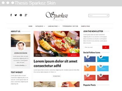 Free Social media Thesis Boxes for Thesis Theme - Thesis Skins