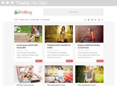 Thesis Pin Skin