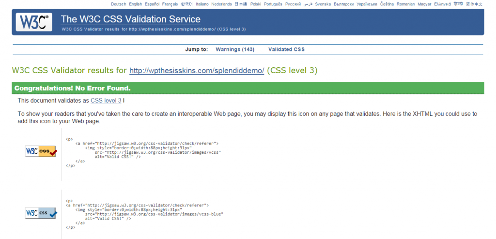 sp-cssvalidation