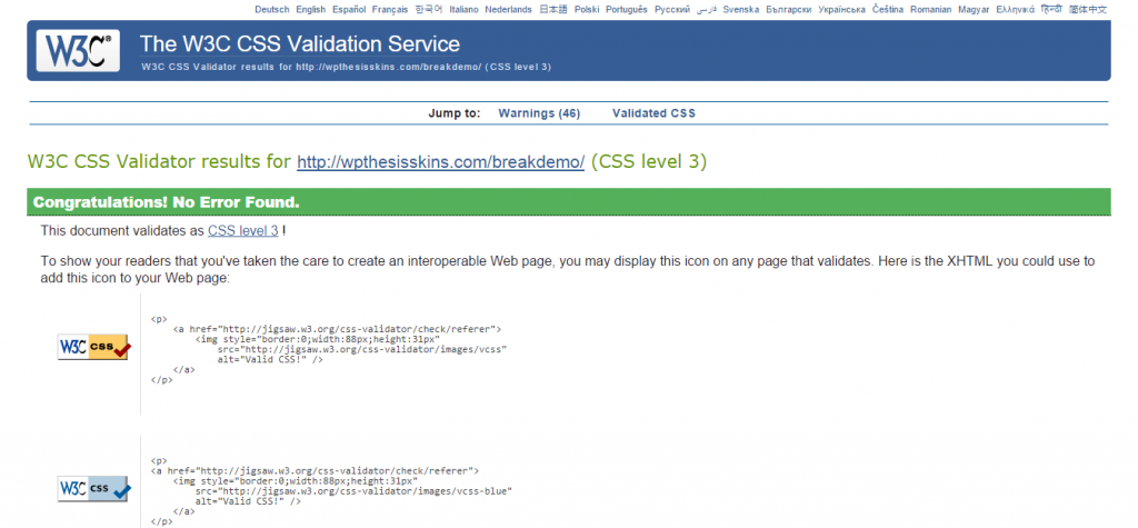 css-validation-break