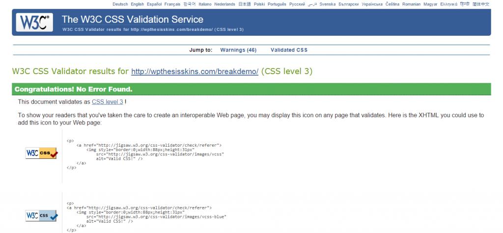 css-validation-break