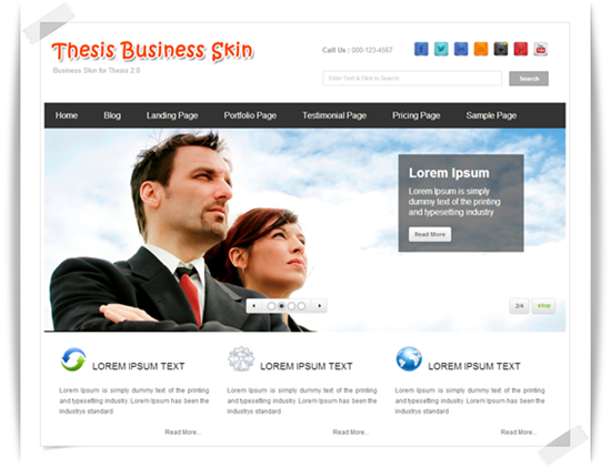 Thesis Business Skin — post
