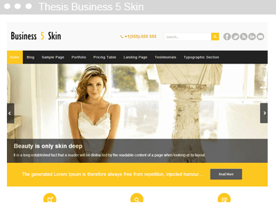 Thesis Business 5 Skin