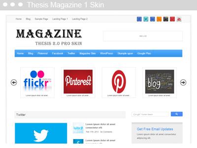 Thesis Magazine 1 Skin