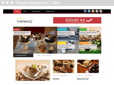 Thesis Magazine 2 Skin