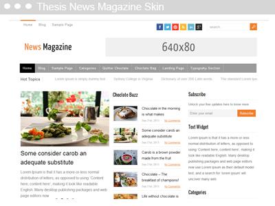 Thesis News Skin