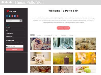 Thesis Potfo Skin