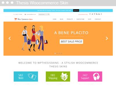 Thesis Woocommerce Skin