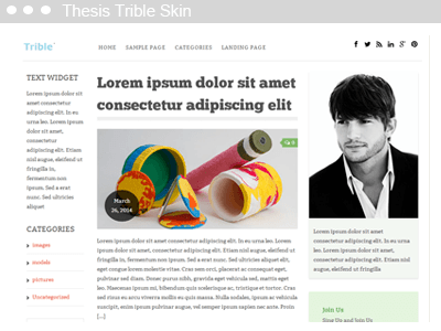 Thesis Trible Skin