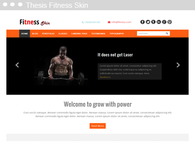 Thesis Fitness Skin