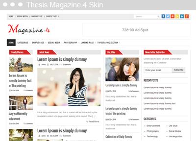 Thesis Magazine 4 Skin