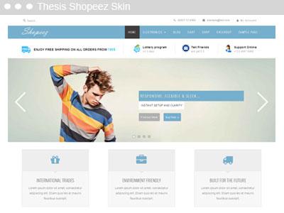 Thesis shoppez Skin