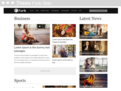 Thesis Forb Skin