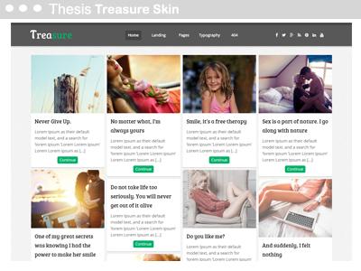 Thesis Treasure Skin